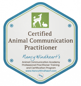Certified Animal Communication Practitioner Badge