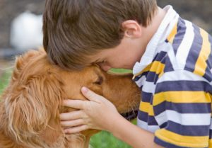 iStock_boy with dog