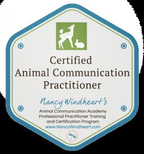 Certified Animal Communication Practitioner Badge