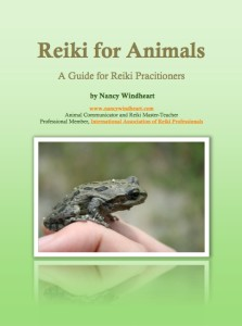reiki for animals cover